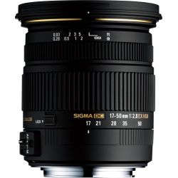 Obiettivo Sigma 17-50mm F/2.8 EX DC OS HSM Canon 17-50 mm