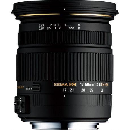 Obiettivo Sigma 17-50mm F/2.8 EX DC OS HSM Canon