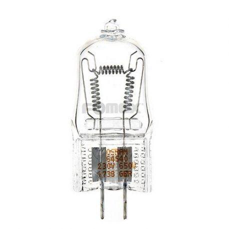 Quantuum Fomex lampada pilota HL652 E-11 650W 230V x flash studio serie HD