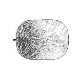 Quantuum Pannello Riflettente Bianco/Argento 91x122cm