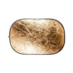 Quantuum Pannello Riflettente Oro/Argento 120x182cm