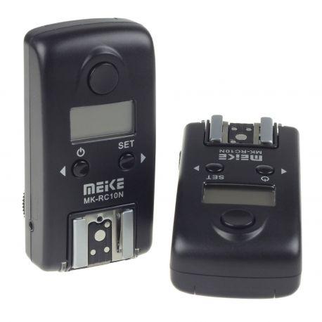Meike MK-RC10N N2 (Nikon MC-DC1) Wireless LCD TTL Studio Flash Trigger x Nikon D70s D80
