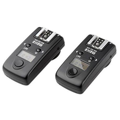 Meike RC-9 C3 Trigger Flash RS-80N3 x Canon 7D 6D 5D Mark III 5D Mark II 5D 1D 50D