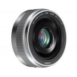 Obiettivo Panasonic LUMIX G 20mm F1.7 II ASPH Silver Lens
