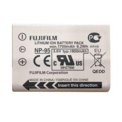 Fuji Fujifilm NP-95 Batteria Originale x X100T X100S X100 X30 X-S1 F31fd