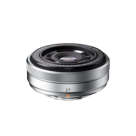 Obiettivo FUJINON XF27mm F2.8 Pancake 27mm Silver per Fujifilm