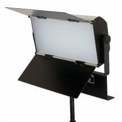 FotoQuantum Kit Luce da Studio FQVL-1100B/1100B LED completamente dimmerabile + Stativo 2.6m