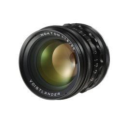 Obiettivo Voigtlander NOKTON 50mm F1.5 Aspherical VM attacco Leica M Nero