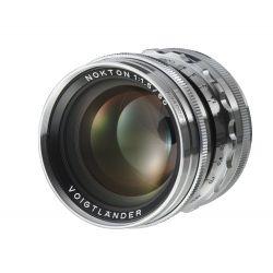 Obiettivo Voigtlander NOKTON 50mm F1.5 Aspherical VM x Minolta Leica M Silver