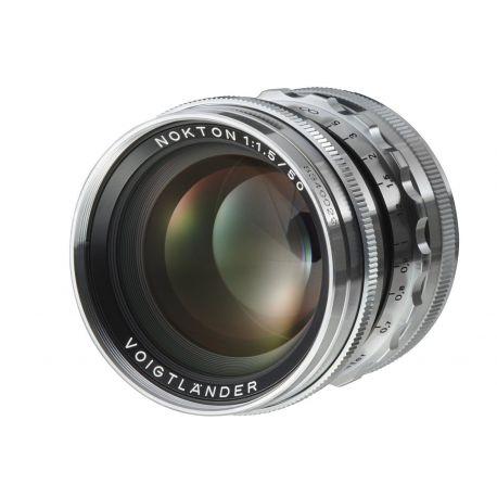 Obiettivo Voigtlander NOKTON 50mm F1.5 Aspherical VM attacco Leica M Silver