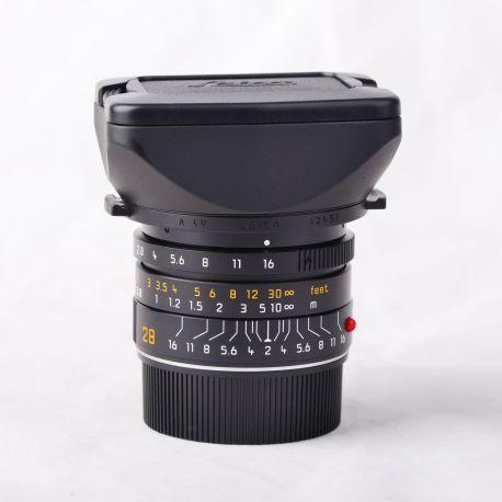 Obiettivo LEICA SUMMICRON-M 28mm f/2 ASPH Lens