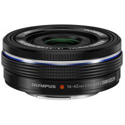 Obiettivo Olympus M.ZUIKO ED 14-42mm F3.5-5.6 EZ Nero Lens 14-42