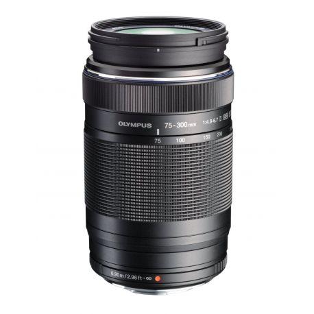 Obiettivo Olympus M.ZUIKO ED 75-300mm f/4.8-6.7 II Nero