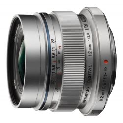 Obiettivo Olympus M.ZUIKO DIGITAL ED 12mm f2.0 Silver Lens