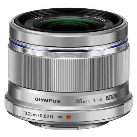 Obiettivo Olympus M.ZUIKO DIGITAL 25mm F1.8 Silver