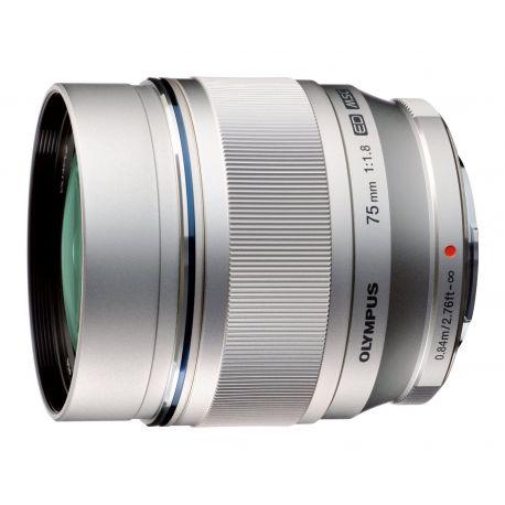 Obiettivo Olympus M.ZUIKO DIGITAL ED 75mm F1.8 Silver Lens