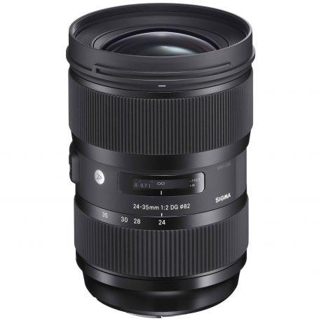 Obiettivo Sigma 24-35mm f/2 DG HSM Art per Canon