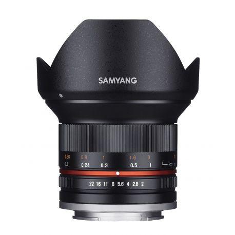 Obiettivo Samyang 12mm f/2.0 NCS CS Nero x Fujifilm Fuji X Lens