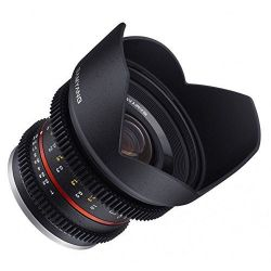 Obiettivo Samyang 12mm T2.2 Cine NCS CS x Micro Quattro Terzi Lens