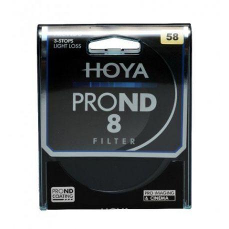 HOYA Filtro PRO ND X8 ND8 Neutral Density 58mm