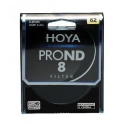 HOYA Filtro PRO ND X8 ND8 Neutral Density 62mm