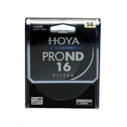 HOYA Filtro PRO ND X16 ND16 Neutral Density 58mm