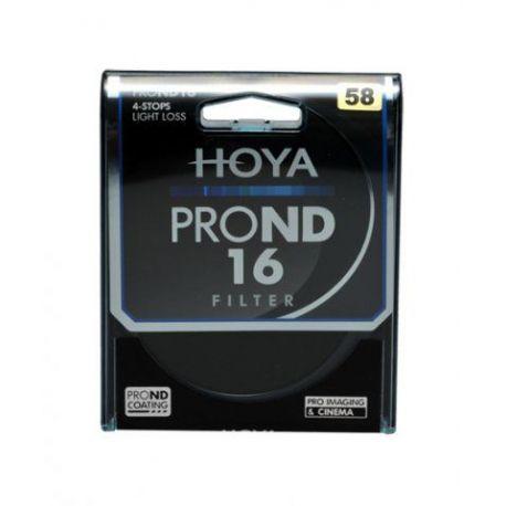 HOYA Filtro PRO ND X16 ND16 Neutral Density 58mm