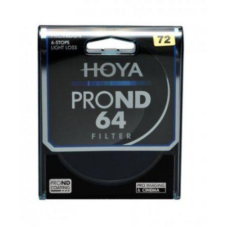 HOYA Filtro PRO ND X64 ND64 Neutral Density 72mm
