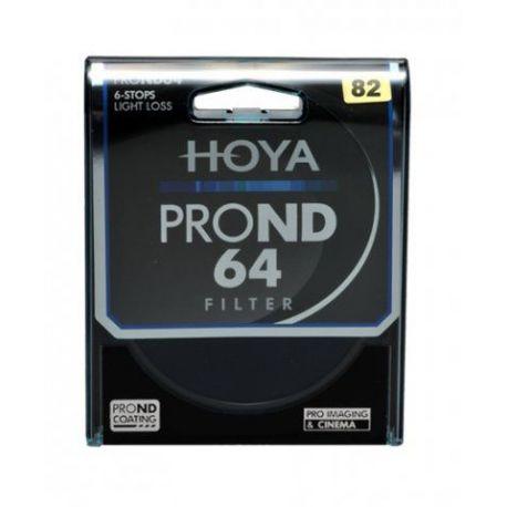 HOYA Filtro PRO ND X64 ND64 Neutral Density 82mm