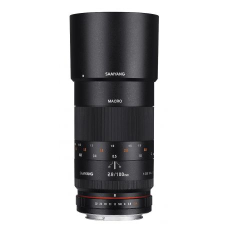 Obiettivo Samyang AE 100mm F2.8 ED UMC Macro x Nikon Lens
