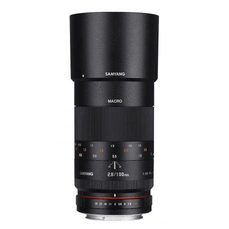Obiettivo Samyang 100mm F2.8 ED UMC Macro x Sony E-Mount Lens