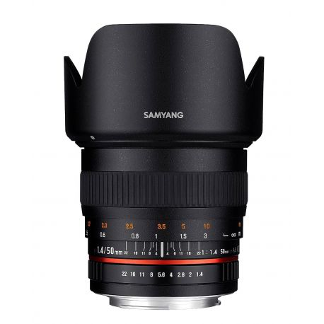 Obiettivo Samyang 50mm f/1.4 AS UMC x Fujifilm Fuji X Lens