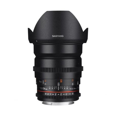 Obiettivo Samyang 24mm T1.5 ED AS UMC VDSLR x Micro Quattro Terzi M4/3 Lens