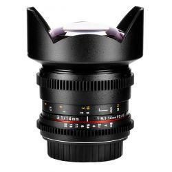 Obiettivo Samyang 14mm T3.1 ED AS IF UMC x Micro Quattro Terzi VDSLR Video