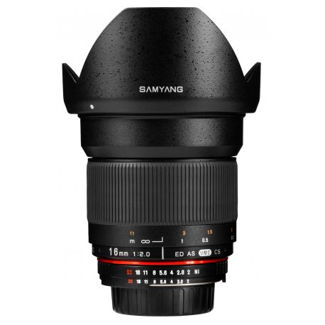 Obiettivo Samyang 16mm f/2.0 ED AS UMC CS x Canon EOS M