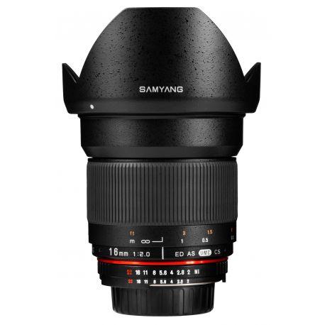 Obiettivo Samyang 16mm f/2.0 AE ED AS UMC CS x Nikon