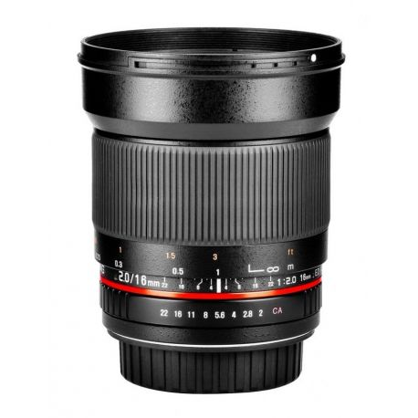 Obiettivo Samyang 16mm T2,2 ED AS UMC CS x Nikon VDSLR Video