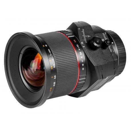 Obiettivo Samyang 24mm f/3.5 T-S ED AS UMC x Sony A