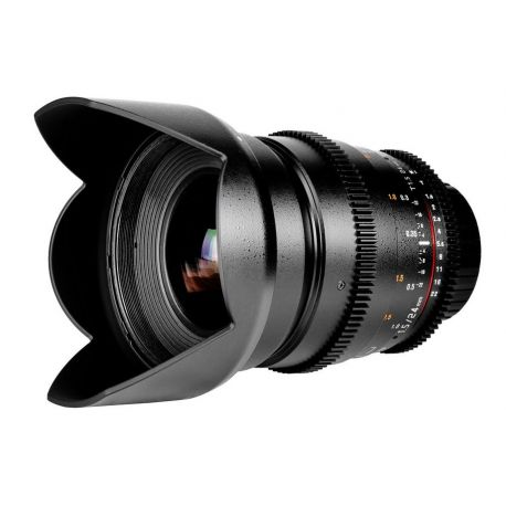 Obiettivo Samyang 24mm T1.5 ED AS IF UMC x Canon VDSLR Video