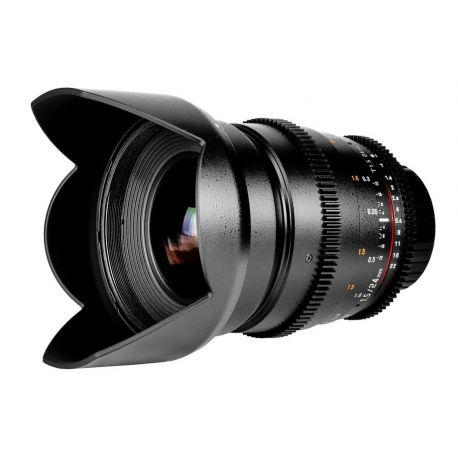 Obiettivo Samyang 24mm T1.5 ED AS IF UMC x Pentax VDSLR Video