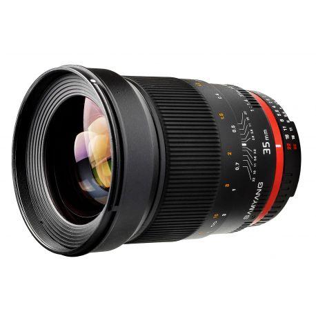 Obiettivo Samyang 35mm f/1.4 AE AS UMC x Nikon