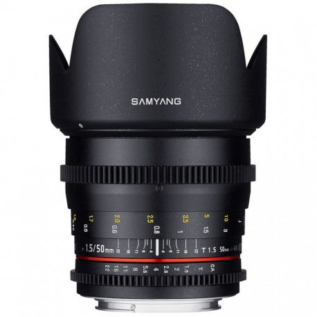 Obiettivo Samyang 50mm T1.5 AS UMC x Pentax VDSLR Video