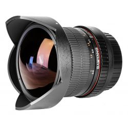 Obiettivo Samyang 8mm f/3.5 UMC Fish-eye x Samsung NX
