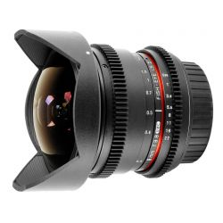 Obiettivo Samyang 8mm T3.8 Fish-eye CS II x Canon VDSLR Video