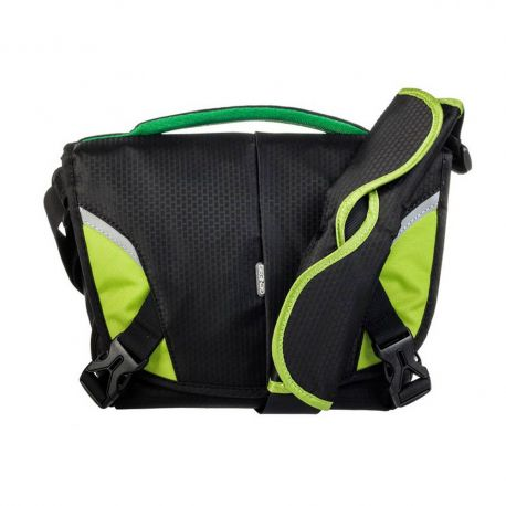Genesis Boston Borsa Custodia Tracolla Bag Nero/Lime