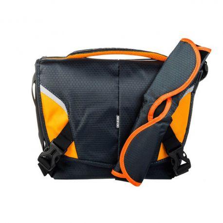 Genesis Boston Borsa Custodia Tracolla Bag Blu Scuro/Arancione