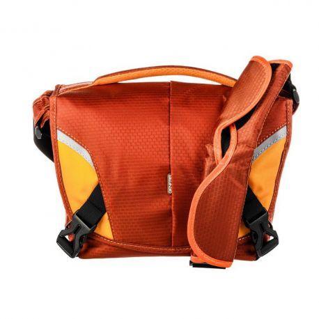 Genesis Boston Borsa Custodia Tracolla Bag Arancione