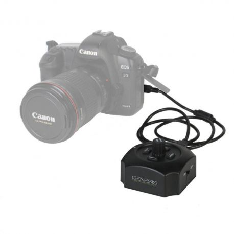 Genesis USB follow focus x fotocamere Canon