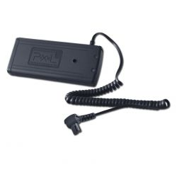 Pixel TD-384 Flash Battery Pack x Sony HVL-F58AM HVL-F56AM
