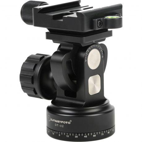 Sunwayfoto DT-02D50 Testa per monopiede con Clamp